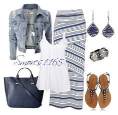 47 ideas for womens outfits casual summer maxi skirts Komplette Outfits, Summer Outfits, Casual Outfits, Fashion Outfits, Womens Fashion, Fashion Trends, Striped Outfits, Fashionista Trends, Budget Fashion
