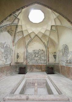 Bath house in Hammam-e Vakil, Iran