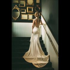 Stunning Galia Lahav wedding gown. Its all in the details!  #bride #wedding #GaliaLahav #backless