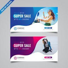 discount design Discount banner template P - Fb Banner, Sale Banner, Rollup Banner Design, Banks Advertising, Banner Design Inspiration, Facebook Cover Design, Web Design, Clinic Design, Social Media Design