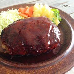 ハンバーグ 肉汁 レシピ