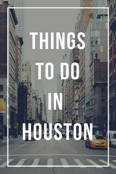 Whether you are a shopaholic, art lover, adventurous person, or a foodie, there is always something for everyone to enjoy.? Travel | Travel guide | houston | texas