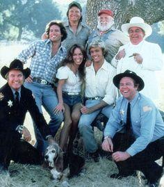 Cast of Dukes of Hazzard 1980s Tv Shows, Bo Duke, Dukes Of Hazard, Uncle Jesse, Catherine Bach, Tv Guide, Aviation Art, Classic Tv, Southern Belle
