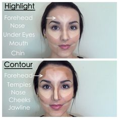 Highlight/contour by thebeautybox1211