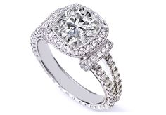 Best Ring Setting For Cushion Cut Diamond