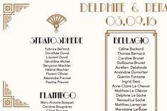 Cet article Tableau Mariage Art Déco<br> + Nom de tables est apparu en premier sur L'Atelier d'Elsa Faire-part - faire-part de mariage et de naissance créé sur mesure, papeterie originale Jour J et carterie évènementielle.