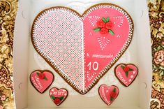 Big pink heart