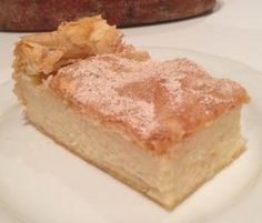 Greek semolina dessert