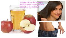 10 Beneficios del vinagre de manzana que no conocías
