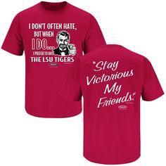 Arkansas Razorbacks Fans. Stay Victorious (Anti-LSU). T-Shirt