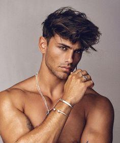 Male Model Face, Male Models, Hair And Beard Styles, Hair Styles, Stunning Eyes, Male Beauty, Pretty Face, Cute Boys, Sexy Men