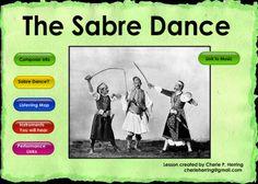 """The Sabre Dance"" SMARTBoard Music Lesson - just a little more"