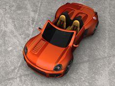 Deltoister Upfront View by deltoiddesign on DeviantArt Concept Cars, Deviantart
