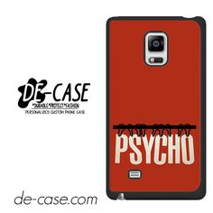 Movie Poster Psycho DEAL-7476 Samsung Phonecase Cover For Samsung Galaxy Note Edge