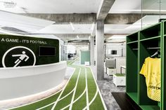 Game Changer: Onefootball's Berlin HQ by TKEZ Architecture