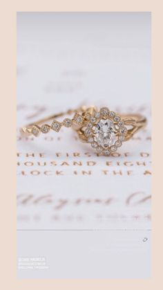 Pear Diamond Ring- Halo Engagement Ring - Poetry of Luxe Jewelry Vintage Inspired Engagement Rings, Halo Engagement Rings, Pear Diamond Rings, Wedding Proposals, Paris Wedding, Poetry, Wedding Inspiration, Art Deco, Wedding Rings