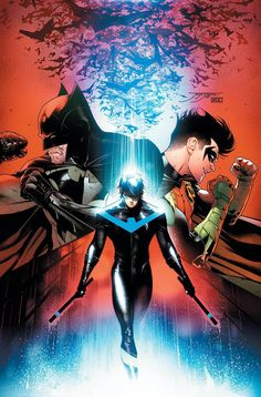 Nightwing by Jorge Jimenez.