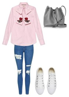 """Xxx🎀"" by macie-miller-1 on Polyvore featuring Topshop, Gucci, Converse and Lancaster"
