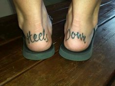 Cowgirl horse tattoo heels down! -b @Krysta Guille Lindsay Eiland Vaith that is cute lol