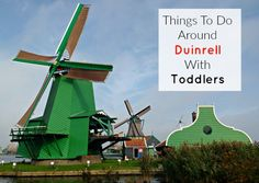 Things to do around Duinrell with toddlers.  #toddlerfriendly #thenetherlands