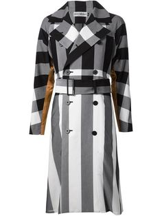 Shop Issey Miyake check and stripe trench coat in H. Lorenzo from the world's best independent boutiques at farfetch.com. Over 1500 brands from 300 boutiques in one website.