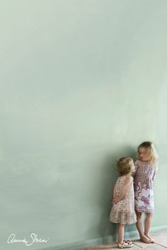 Annie Sloan Wall Paint in Duck Egg Blue. This greenish soft blue is reminiscent of Rococo French and Swedish interiors, perfect for walls. Wall Paint is a tough, water-based household paint that takes whatever life throws its way.