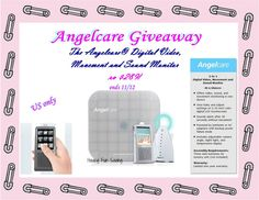 #Win The Angelcare® Digital Video, Movement and Sound Monitor {rv $298} US only ends 11/12
