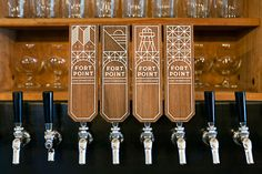 Fort Point Beer Taps