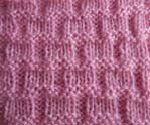 purl and knit Waffle & other purl-knit stitch patterns
