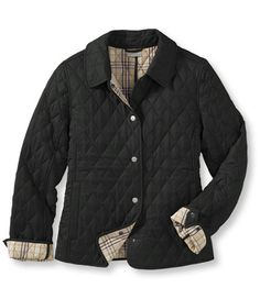quilted riding jacket $109