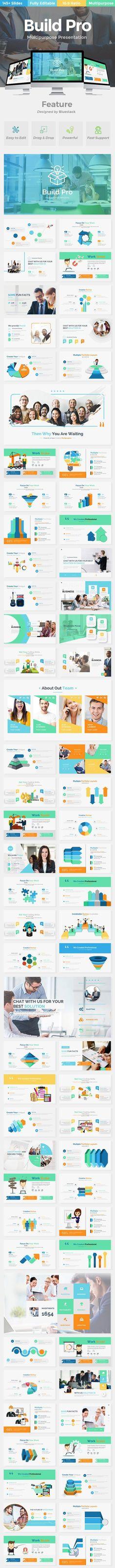 Build Pro Business Keynote Template - Keynote Business Presentation Template by bluestack. Business Presentation Templates, Business Powerpoint Templates, Keynote Template, Presentation Design, Building, Swot Analysis, Set Design, Graphic