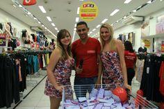 Sorteio compra premiada nas Lojas Esplanada em Campina Grande/PB.