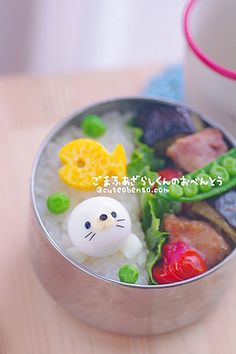 Chara valve Baby Spotted Seal - ◆ lunch * Character valve & Dekosu~itsu today ◆