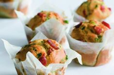 Muffiny s uzeným Fresh Rolls, Bon Appetit, Guacamole, Potato Salad, Pizza, Tacos, Goodies, Food And Drink, Mexican