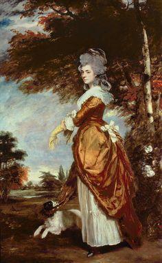 Portrait of Mary Amelia, first Marchioness of Salisbury, by Sir Joshua Reynolds, 1780.