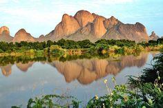 Al Taka mountains and Al Gash river, Kassala, Sudan