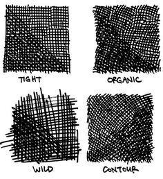 Big Time Attic: Cartooning Tips and Tricks: Crosshatching