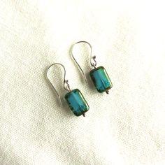 Perfect Summer Earrings! #tealearrings #handmadeearrings #handcraftedjewelry