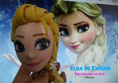 Fofucha Elsa de Frozen