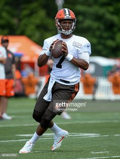 Quarterback DeShone Kizer of the Cleveland Browns ... Welcome to Cleveland 286a72621