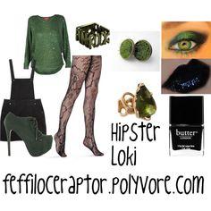 """""""Hipster Loki"""" by feffiloceraptor on Polyvore #marvel"""