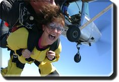 Skydiving, had to happen! And that will be my face, lol