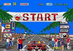 OutRun from Sega for arcade