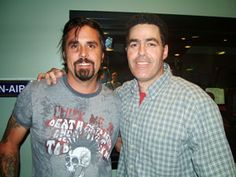 """My daily dose of Richard Rawlings with my man, Adam Carolla! That's a freaking awesome pair right there ... """"got to get it on, mandate get it on!""""  Okay -sure will!"""