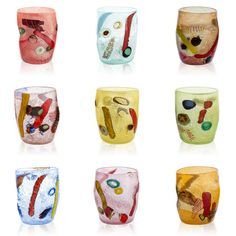 #tumblers #goto #drinkingglasses #muranoglass #blownglass #madeinItaly #handmade #colourful #beautiful #objects #MULTIFORME