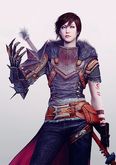 Much like Fem Shep, Marian Hawke is a total beast and an awesome protagonist. #teamawesomeladies