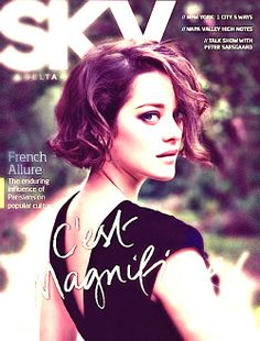 Magnifique Marion (Cotillard) a deeply moving actress and philanthropist.