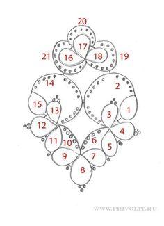 Resultado de imagen de Tatting pattern