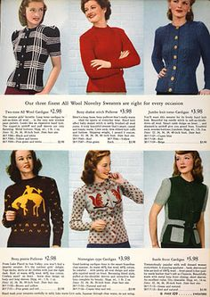 1943 Sweaters