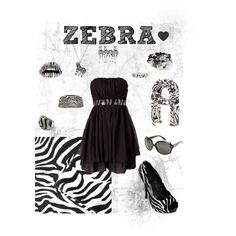 Zebra, created by smbsammers.polyvore.com